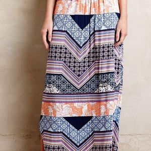 ANTHROPOLOGIE COULOIR MAXI SKIRT size S